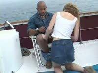 Потрясное порево на яхте