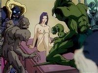 Сумасшедшее аниме с огромнейшим обилием монстров