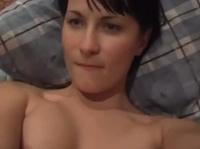 Русская симпотичная пара снимает домашнее порно
