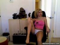 фото сессия для грудастой блондинки